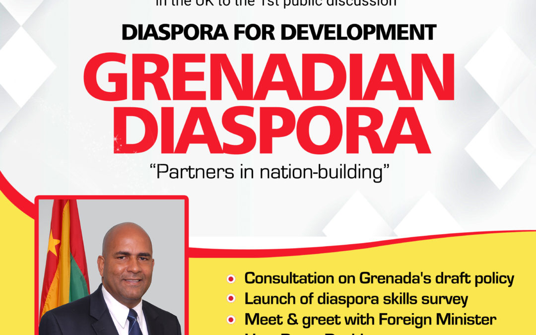 Grenadians in London, UK share thoughts on Grenada's draft diaspora engagement policy